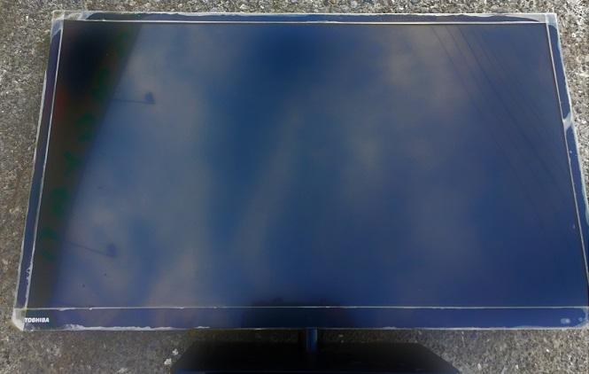 液晶テレビのお手入れ掃除