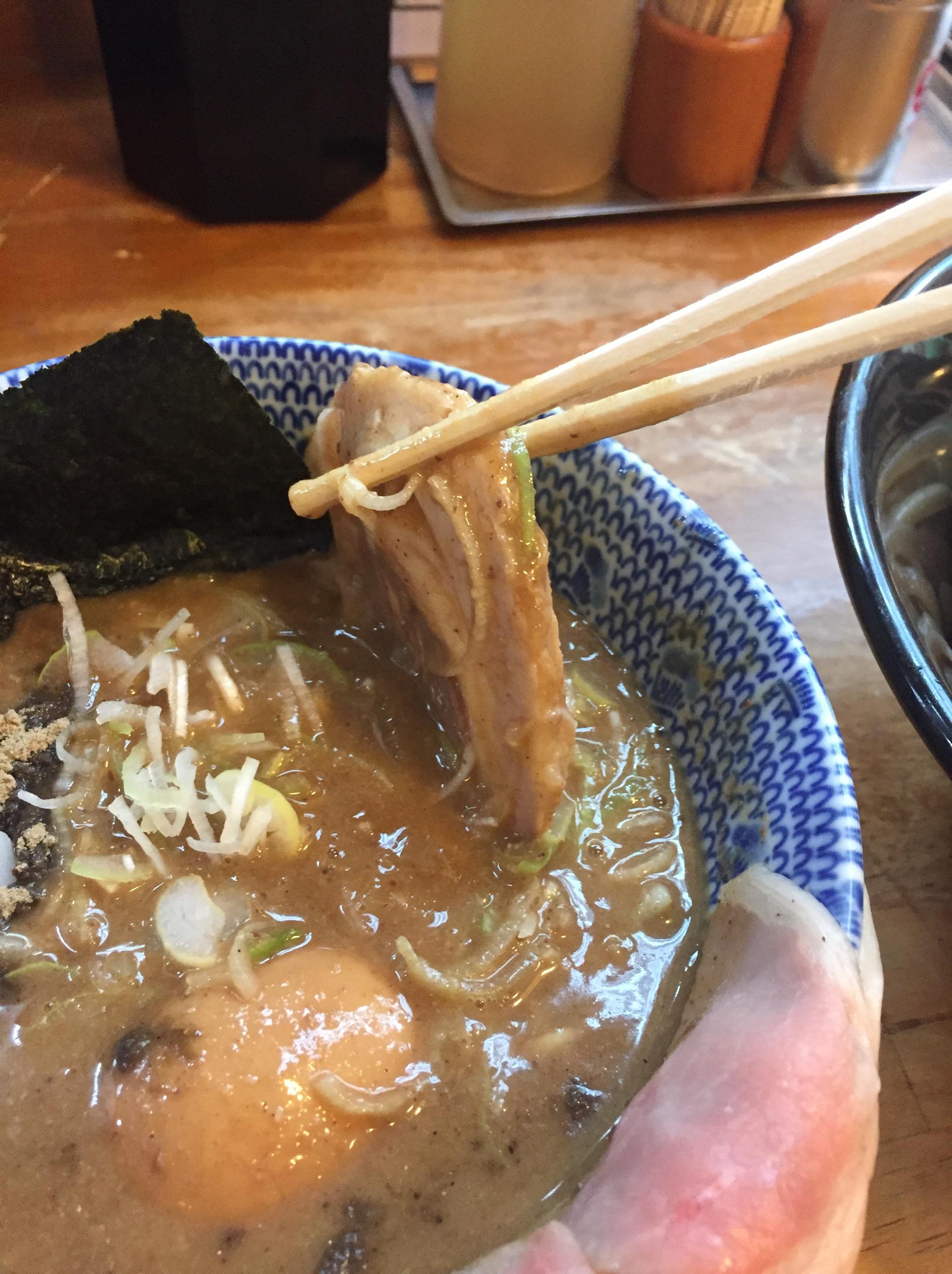 中華蕎麦-とみ田チャーシュー