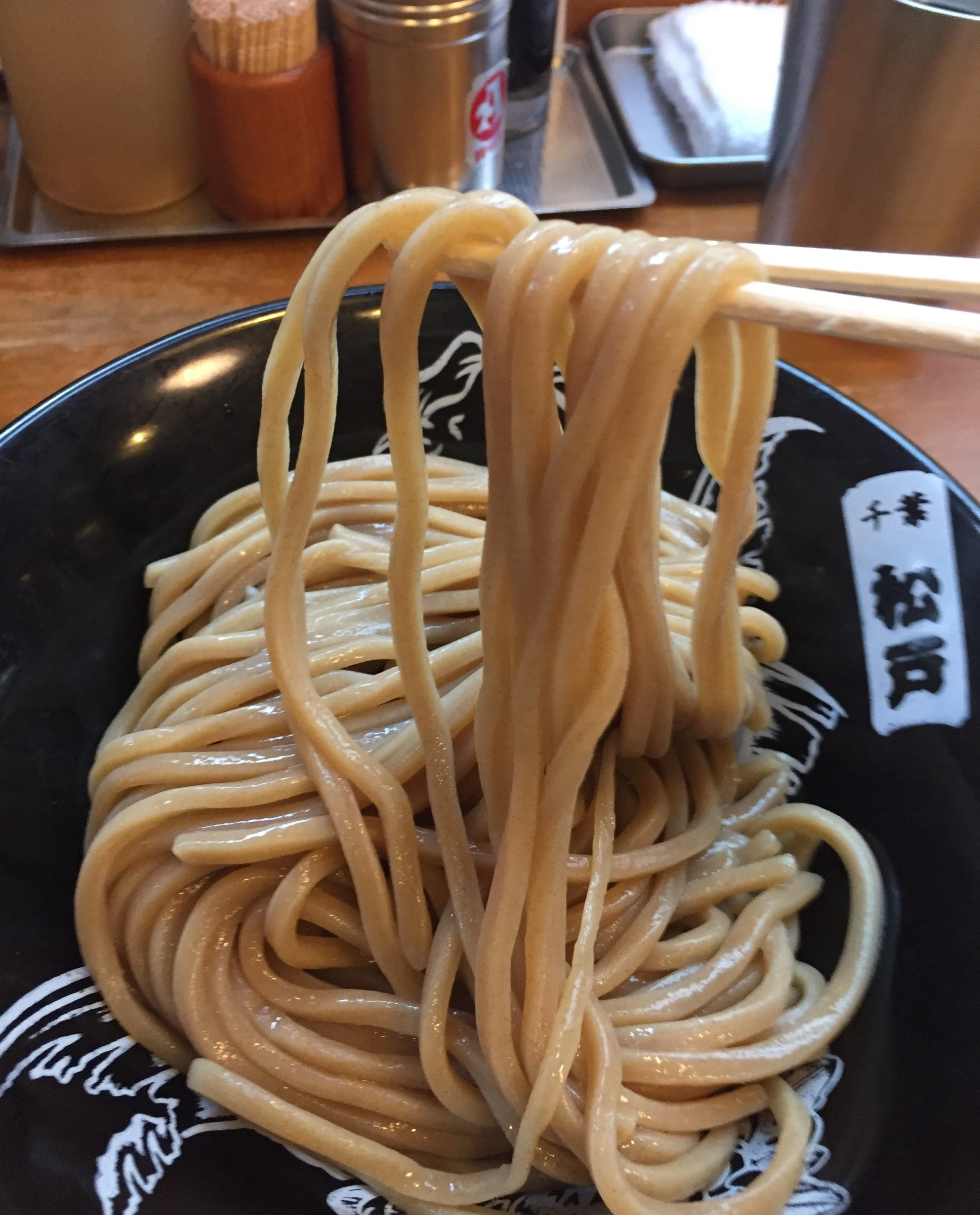中華蕎麦-とみ田太麺