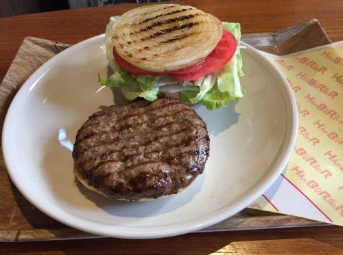 ハンバーガー皿