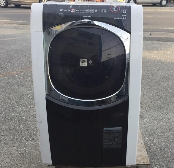 シャープ【 SHARP】ななめドラム式洗濯機(ES-HG92G-B)自分で分解