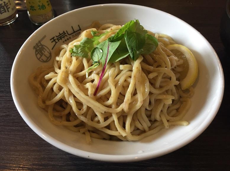【外食スポット:中華蕎麦】朝霞市の瑞山(ZUIZAN)で黒ゴマ坦々つけ麺を食べてきました。