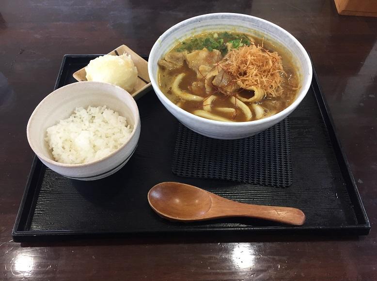 【うどん】『武蔵野うどん真打』のカレー南蛮うどんセットを食して来ました。
