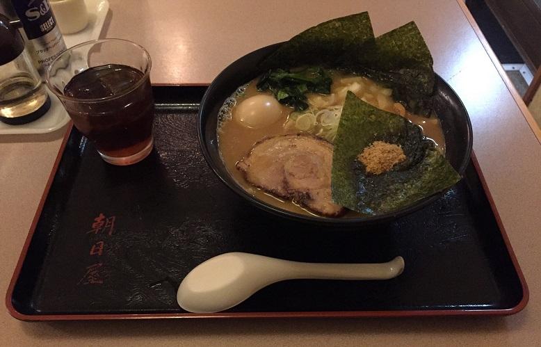 【ラーメン】鴻巣市に有る『らーめん朝日屋』に行ってきました。