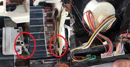 エアコン温度感知センサー